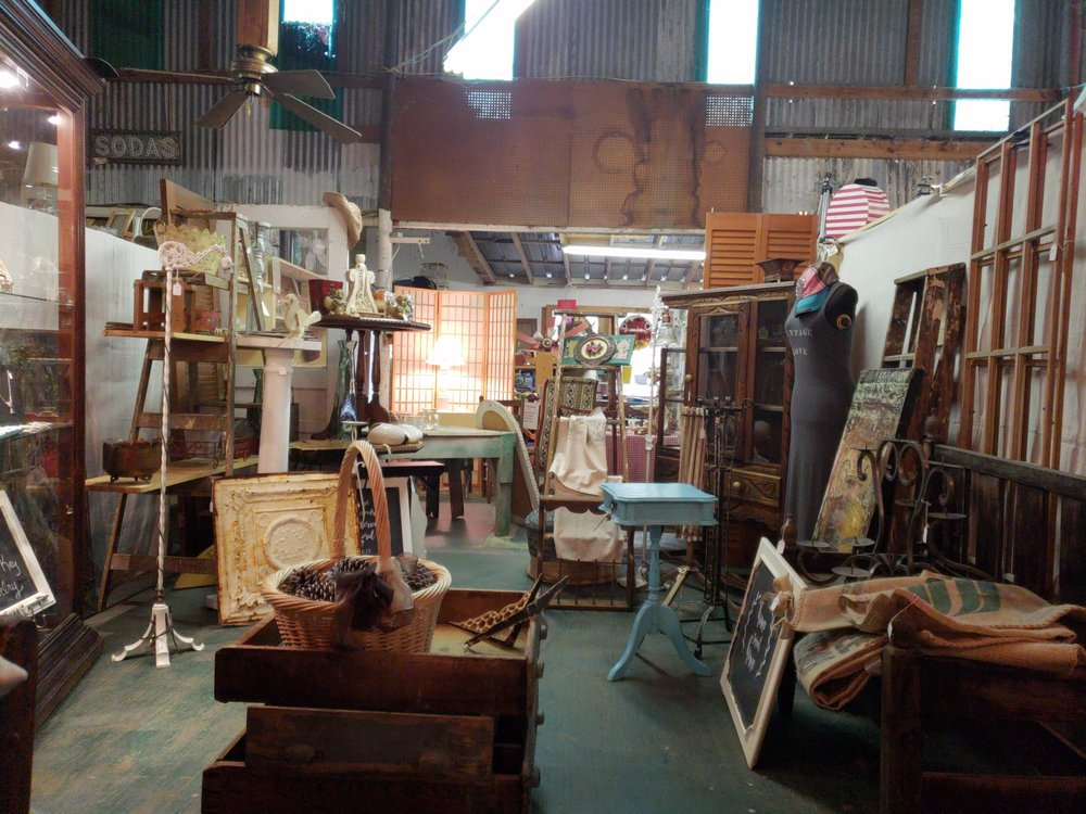 Old Mill Antiques: 210 E Austin St, Jefferson, TX