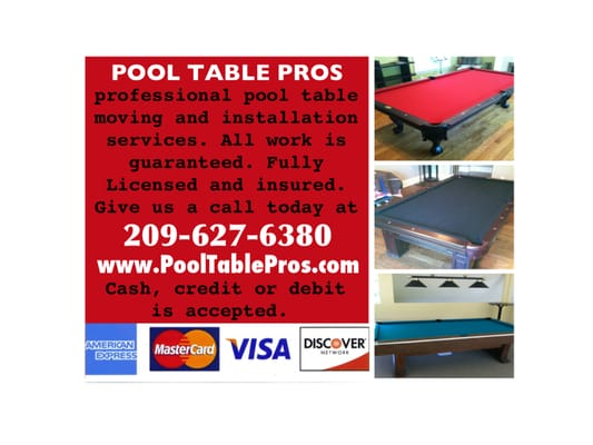Pool Table Pros 7922 W. 11th St Tracy, CA Billiard Tables Manufacturers    MapQuest