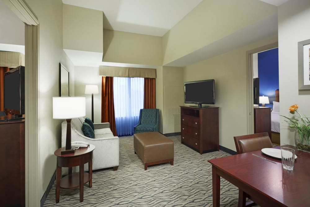 The two bedroom suite offers two king sized beds a shared - Two bedroom suites in houston tx ...