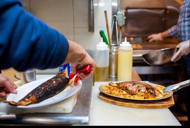Abuqir Seafood: 24-19 Steinway St, Astoria, NY