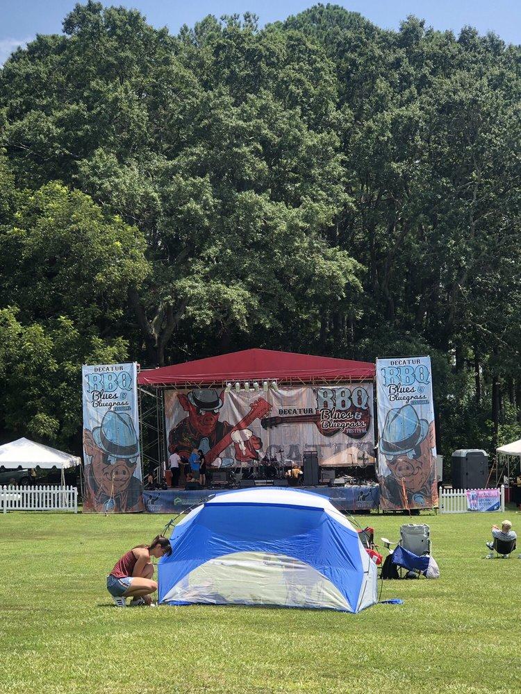 Decatur BBQ Blues & Bluegrass festival: 500 S Columbia Dr, Decatur, GA