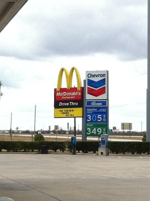 McDonald's: 2805 Highway 59, Rosenberg, TX