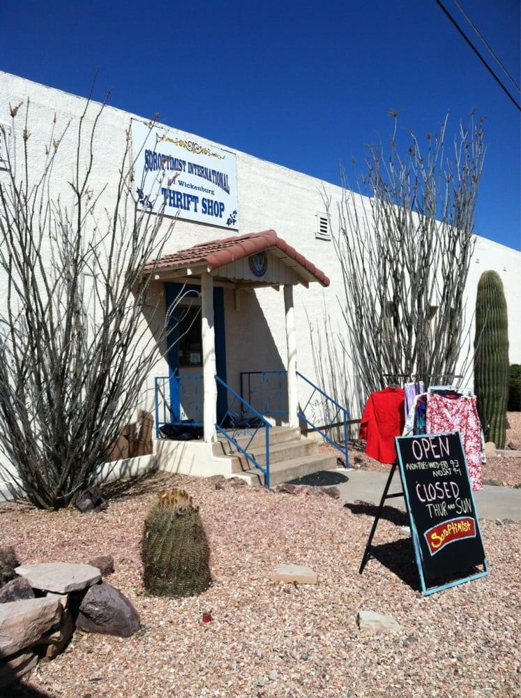 Soroptimist Thrift Shop: 74 W Wickenburg Way, Wickenburg, AZ