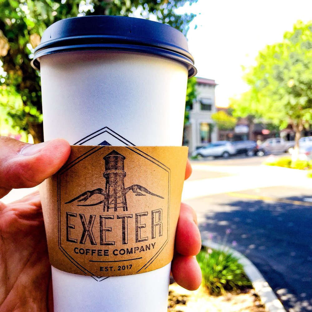 Exeter Coffee Co: 123 N E St, Exeter, CA