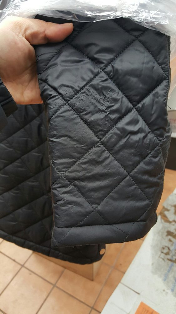 They ruined my puffer jacket  - Yelp