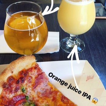 Photo of Pizzami Buscemi - Costa Mesa, CA, United States. Everything on it, well-paired with an OJ IPA