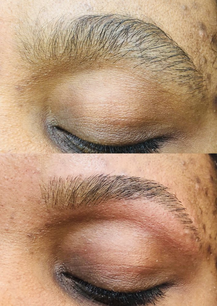Eyebrow Threading Only At The Top Rated Salon In Arlington And