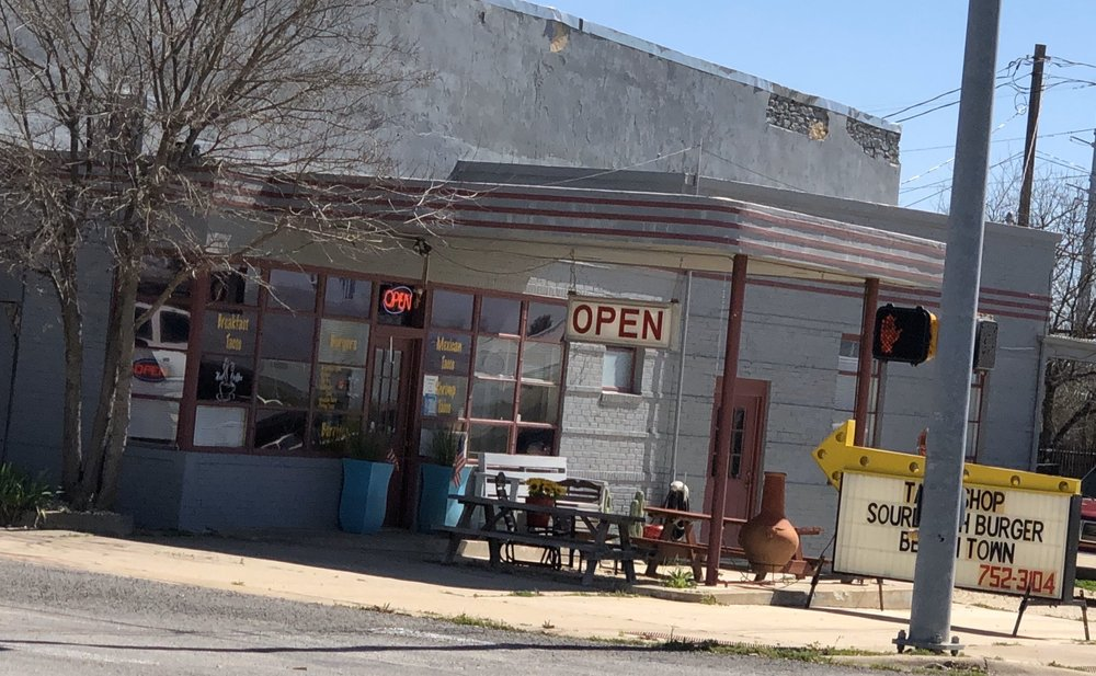 The Taco Shop: 101 4th St, Lometa, TX