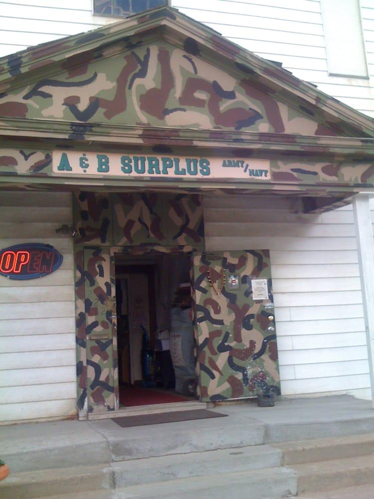 A & B Surplus: 222 W Cedar St, Rawlins, WY