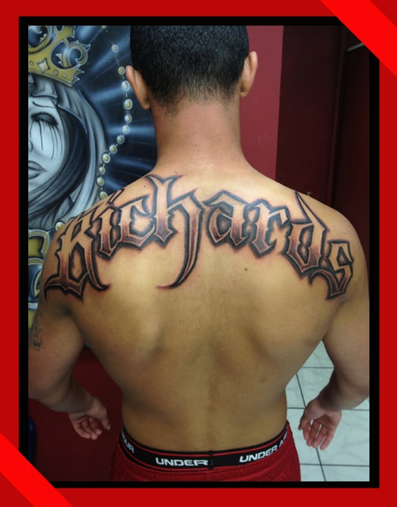 Polynesian lettering by Paolino | Tribal tattoos ... |Hawaiian Letter Tattoos