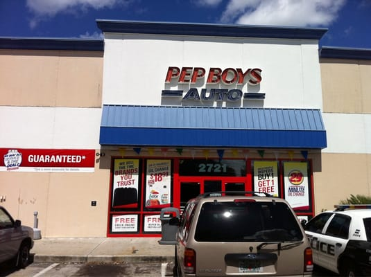 About Pep Boys San Carlos. Pep Boys San Carlos is committed to your satisfaction. We offer Tires, Auto Service, Car Parts and Accessories at our more than locations across the U.S. and Puerto Rico. At Pep Boys we make it easy to take care of your car in one place.
