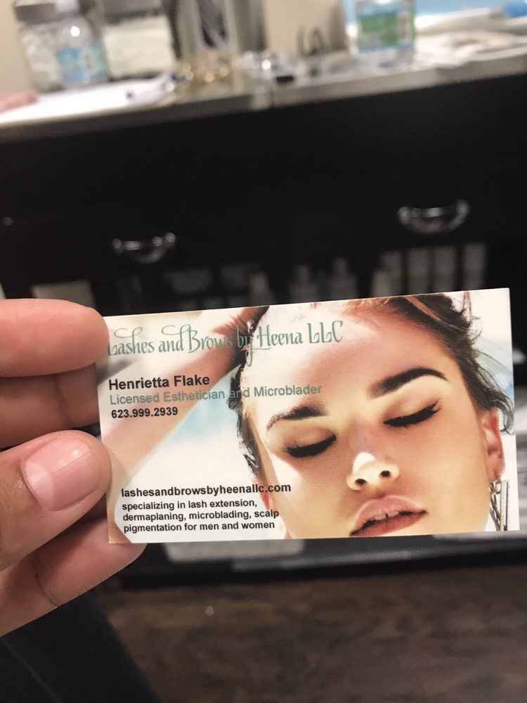Her business cards are so beautiful and classy. - Yelp