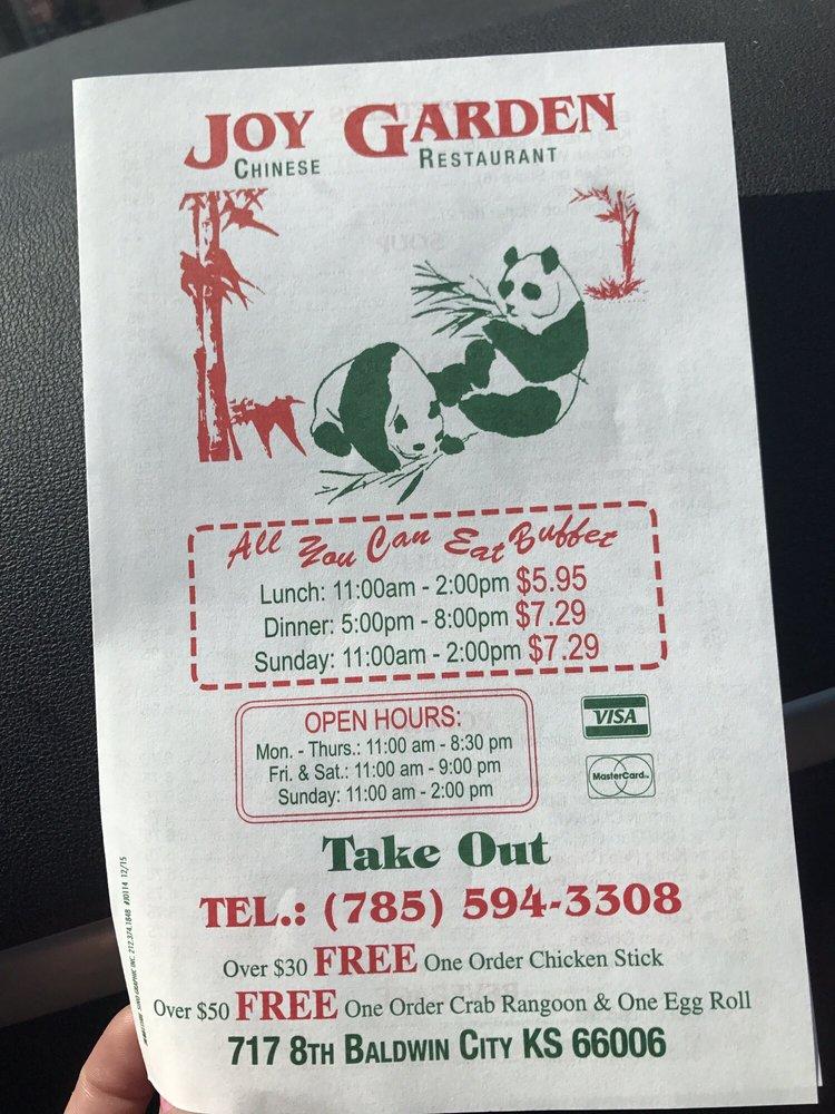 Joy Garden: 717 8th St, Baldwin City, KS