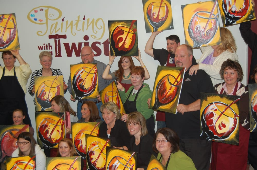Painting with a Twist: 12623 Olive Blvd, Creve Coeur, MO