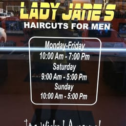 Lady jane's haircut coupons