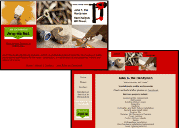 Riverwest Life Web Design
