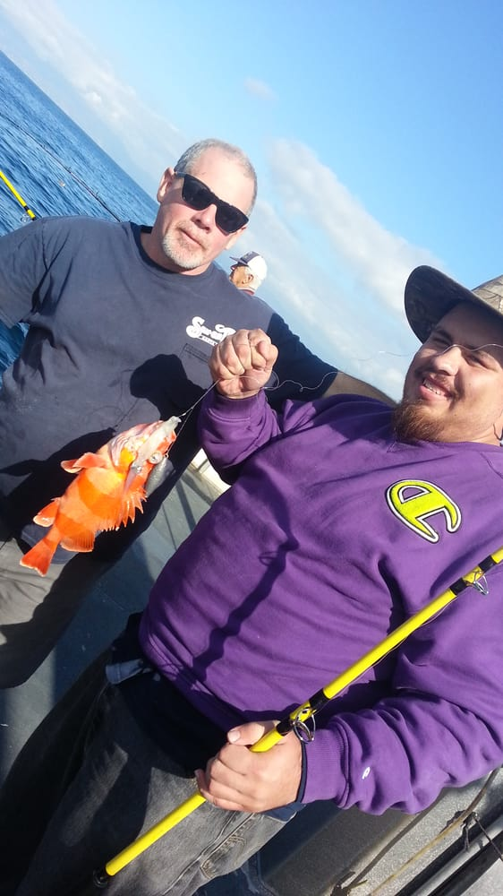 Me and the galley chief yelp for Marina del rey fishing report