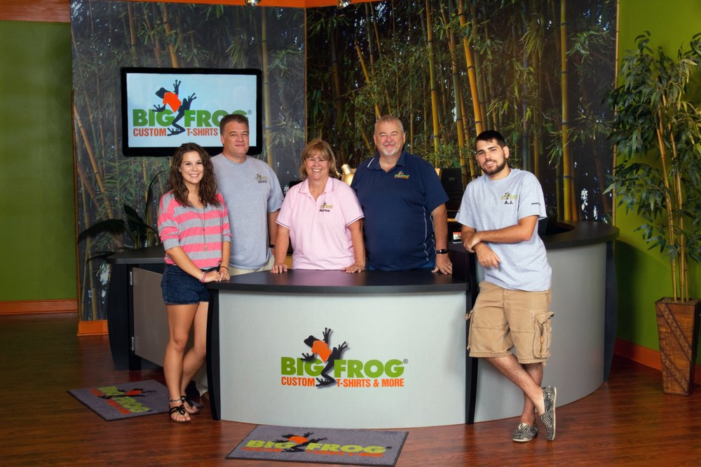 9db354294 Big Frog Custom T-Shirts & More - 22 Photos & 24 Reviews - Screen ...