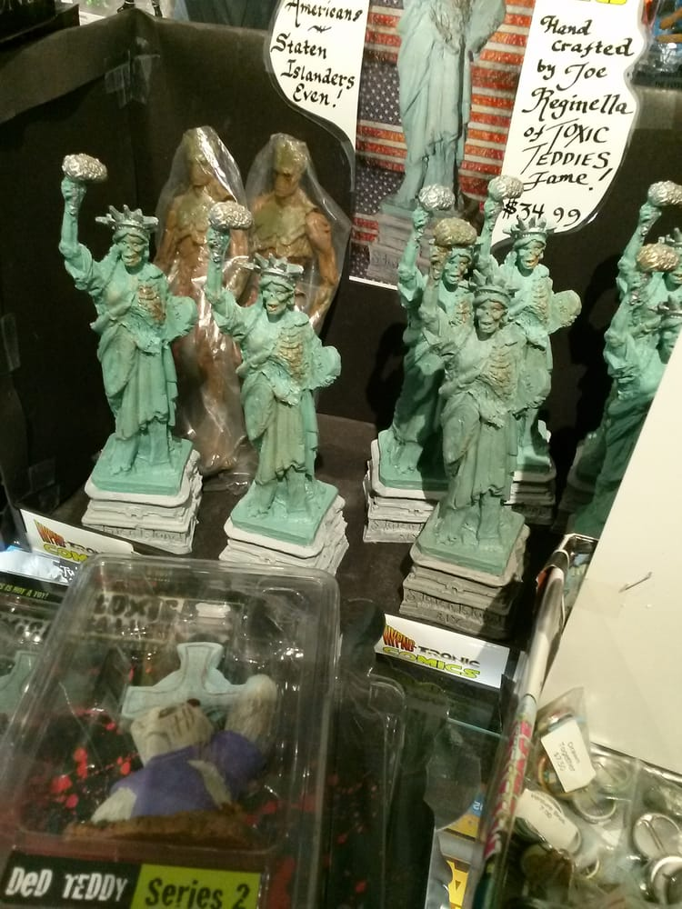 Hypno-Tronic Comics: 156 Stuyvesant Pl, Staten Island, NY