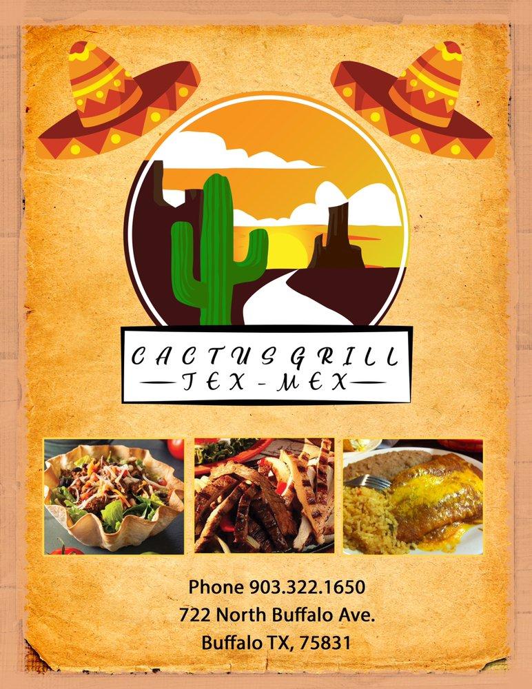 Cactus Grill Tex-Mex: 722 N Buffalo Ave, Buffalo, TX