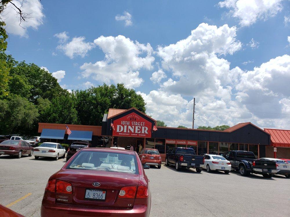 10th Street Diner: 1701 10th Ave, Leavenworth, KS