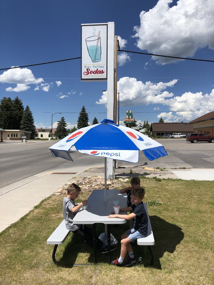 Star Valley Soda: 303 S Washington, Afton, WY