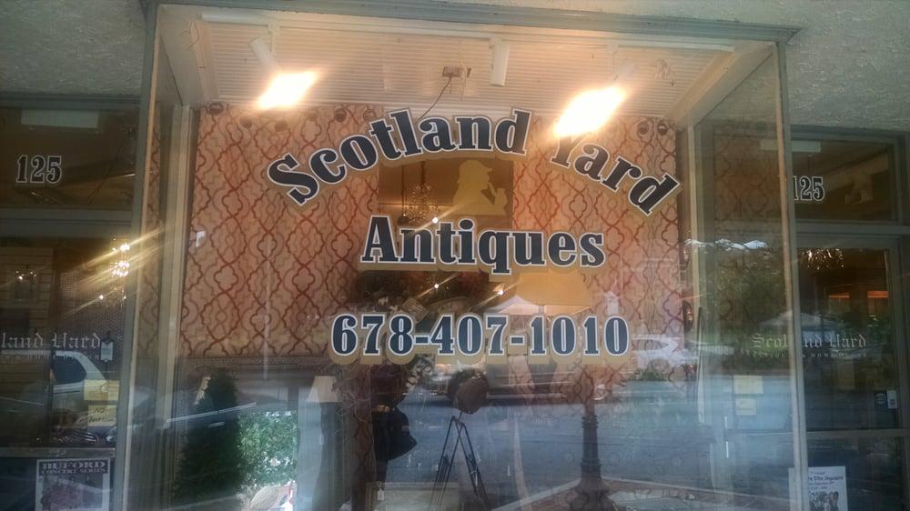 Scotland Yard Antiques: 125 W Crogan St, Lawrenceville, GA