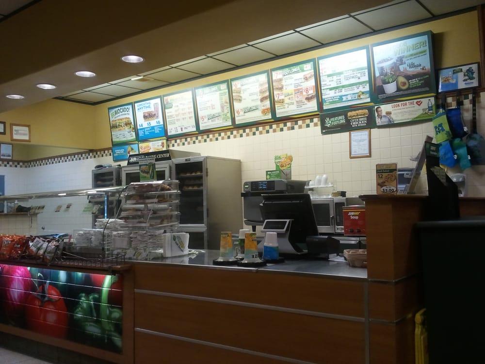 Subway Restaurants Houston Tx