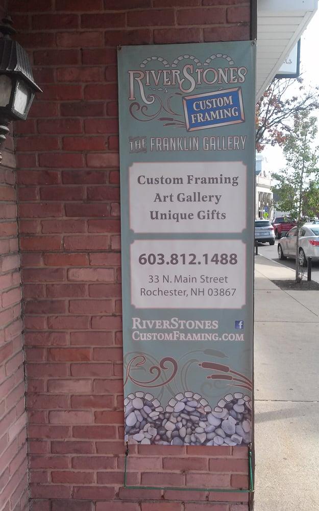 River Stones Custom Framing - Framing - 33 N Main St, Rochester, NH ...
