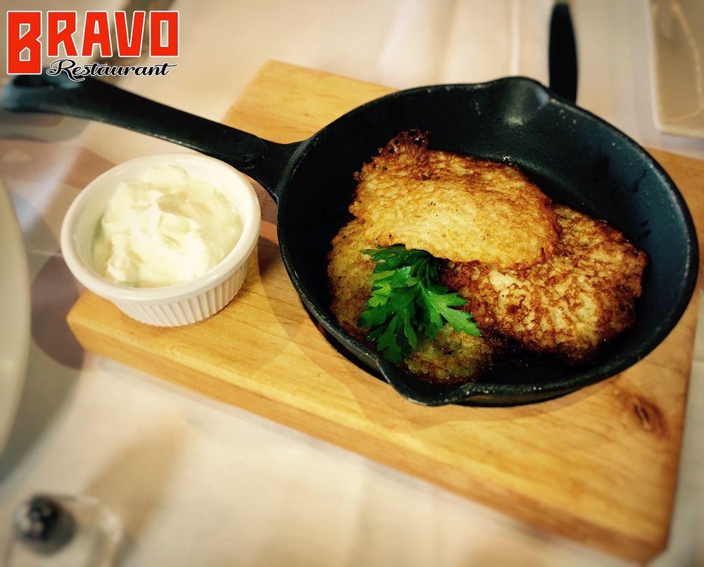 Food from Bravo Restaurant
