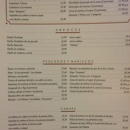 Fotos de 7 portes men yelp for 7 portes barcelona menu
