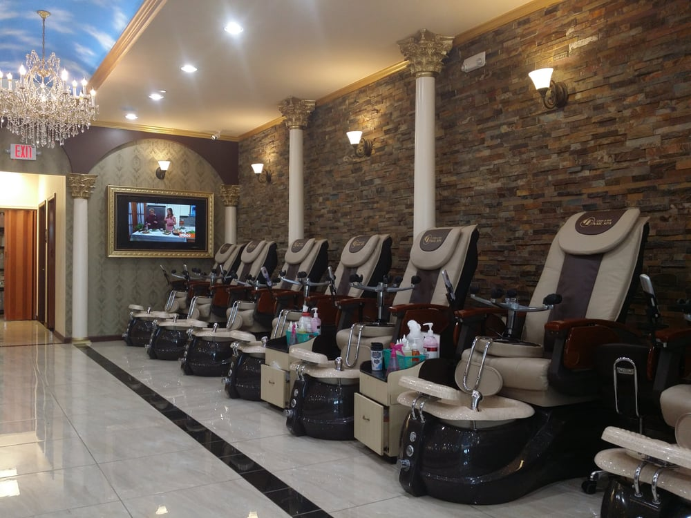 Chan bay nail spa 42 photos nail salons 150 banks for 777 nail salon fayetteville nc