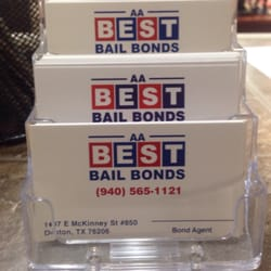 Photo Of Aa Best Bails Bonds Denton Tx United States Loooowwww Low