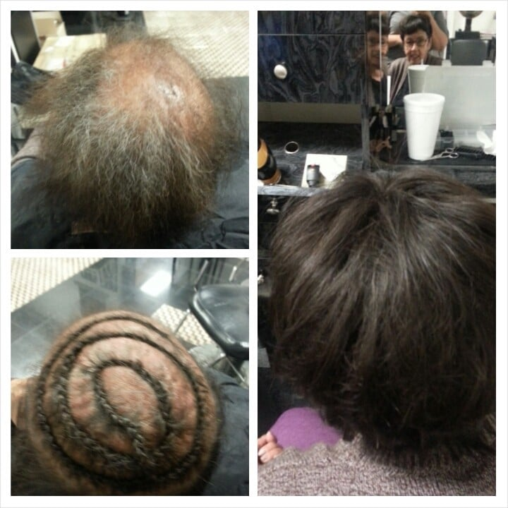 Full Weave For Thinning Hair With A Closure Done By Rickelle Moore