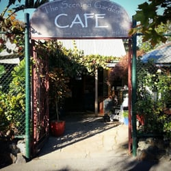 Photo Of The Scented Garden Cafe   Croydon Hills Victoria, Australia. Front  Entrance To