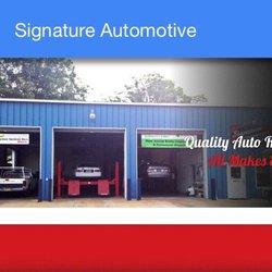 Signature automotive 20 rese as talleres mec nicos for Motores y vehiculos nj