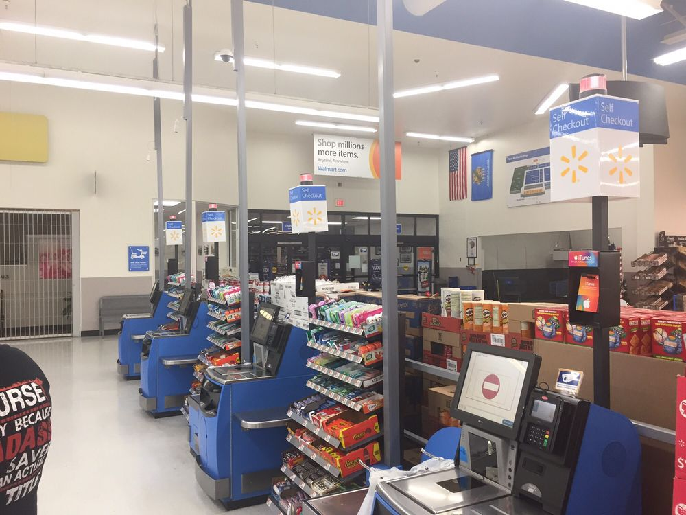 Walmart Supercenter: 432 S George Nigh Expy, Mcalester, OK
