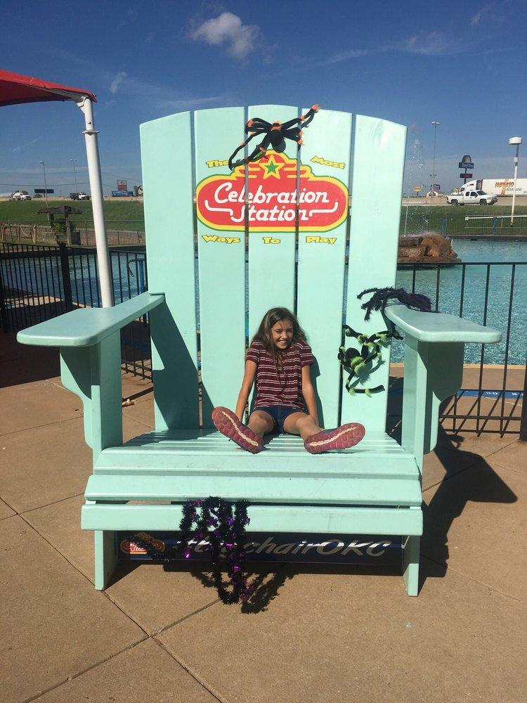 Merveilleux Photo Of Celebration Station   Oklahoma City, OK, United States. Giant  Beach Chair