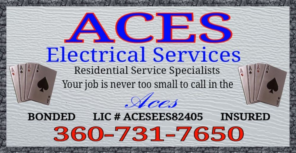 Aces Electrical Services: 6371 Glenwood Rd SW, Port Orchard, WA