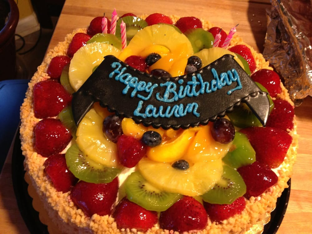 Best Cake Ever I Think Its The Passion Fruit Cake W Fruits On Top