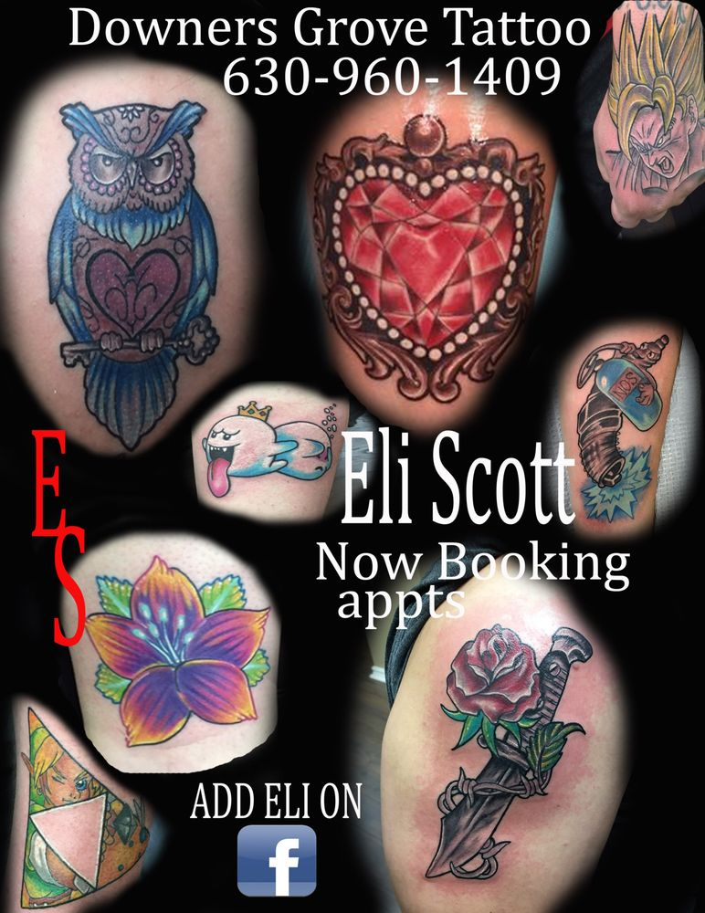Downers Grove Tattoo: 615 Ogden Ave, Downers Grove, IL