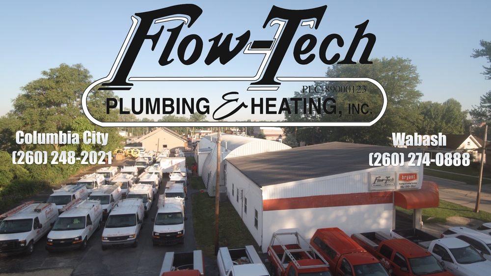 Flow-Tech Plumbing & Heating: 208 E Chicago St, Columbia City, IN