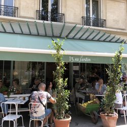restaurant au jardin paris