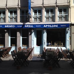 Apollon souvlaki greek oude koornmarkt 47 historisch for Apollon greek and european cuisine