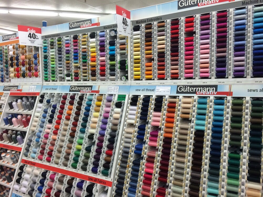 Jo ann fabric and craft fabric stores 4387 commercial for Fabric retailers