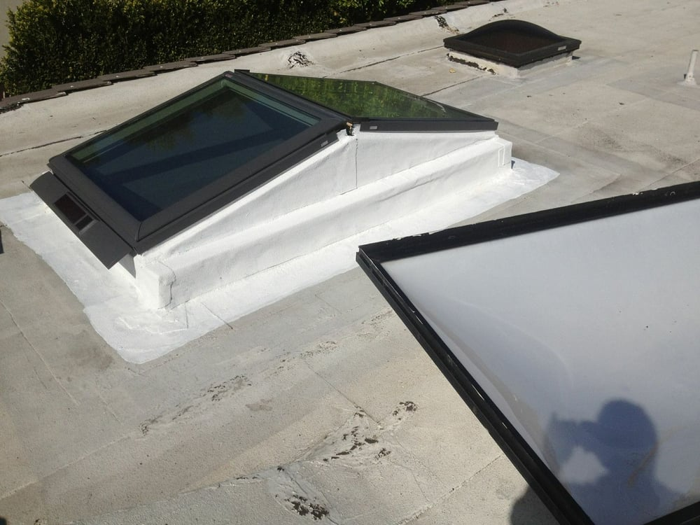 Replacing Old Bubble Domes With A Velux Combination