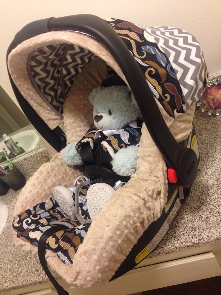 Complete custom car seat cover for our baby boy - Yelp