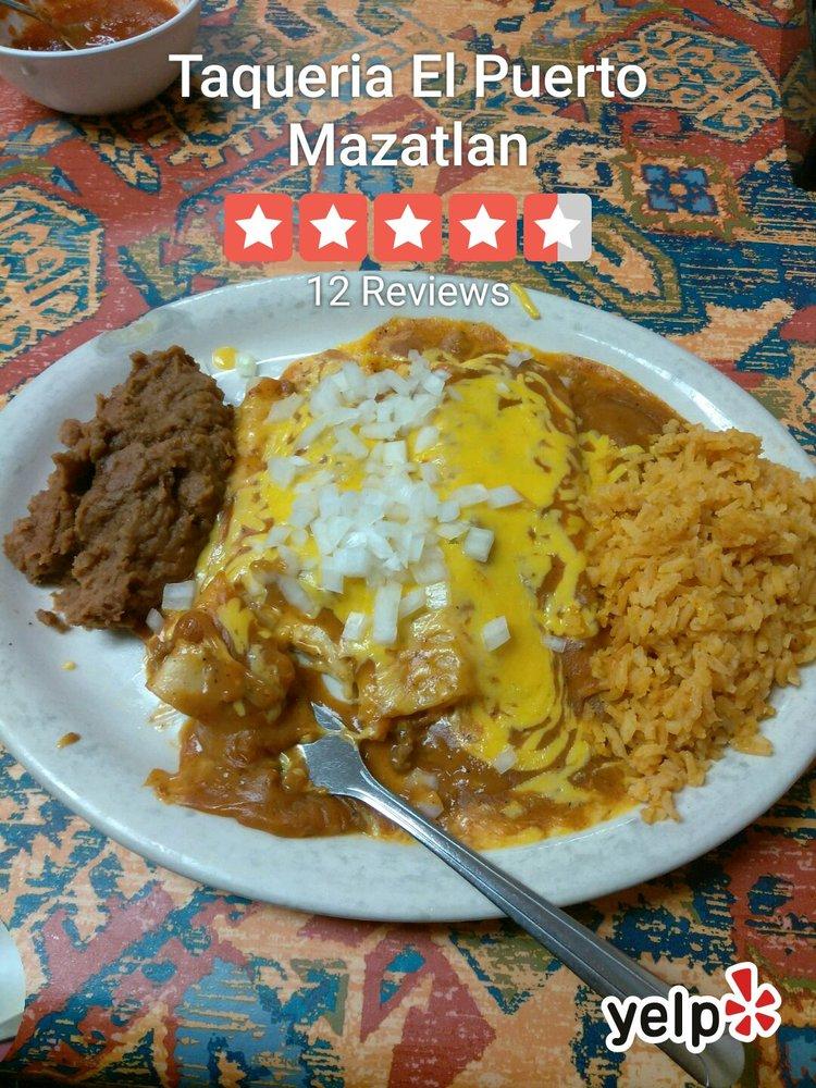 Taqueria El Puerto Mazatlan: 1000 Loop 459, Mathis, TX