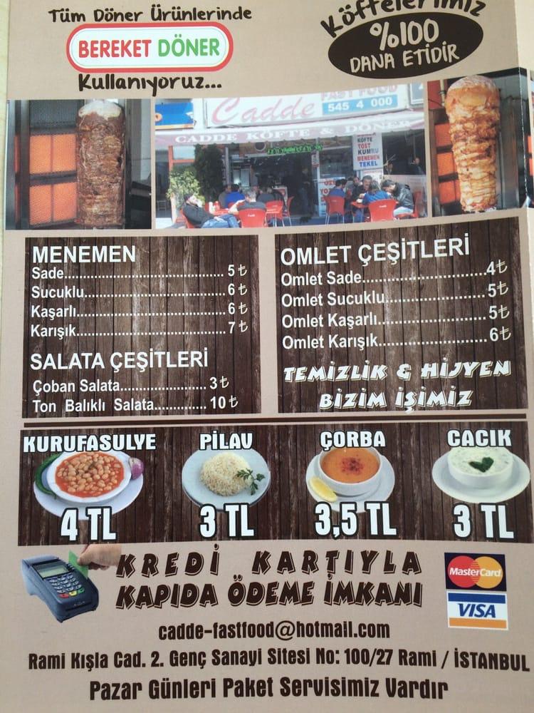 Photos For Cadde Döner Ve Köfte Evi Yelp