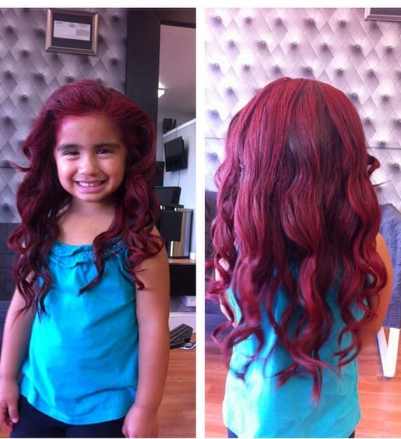 Turned This Little Princess Into Ariel For Her Little Mermaid